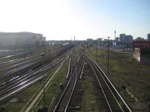 Train tracks Germany