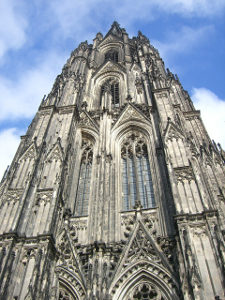 Cologne Dom closeup