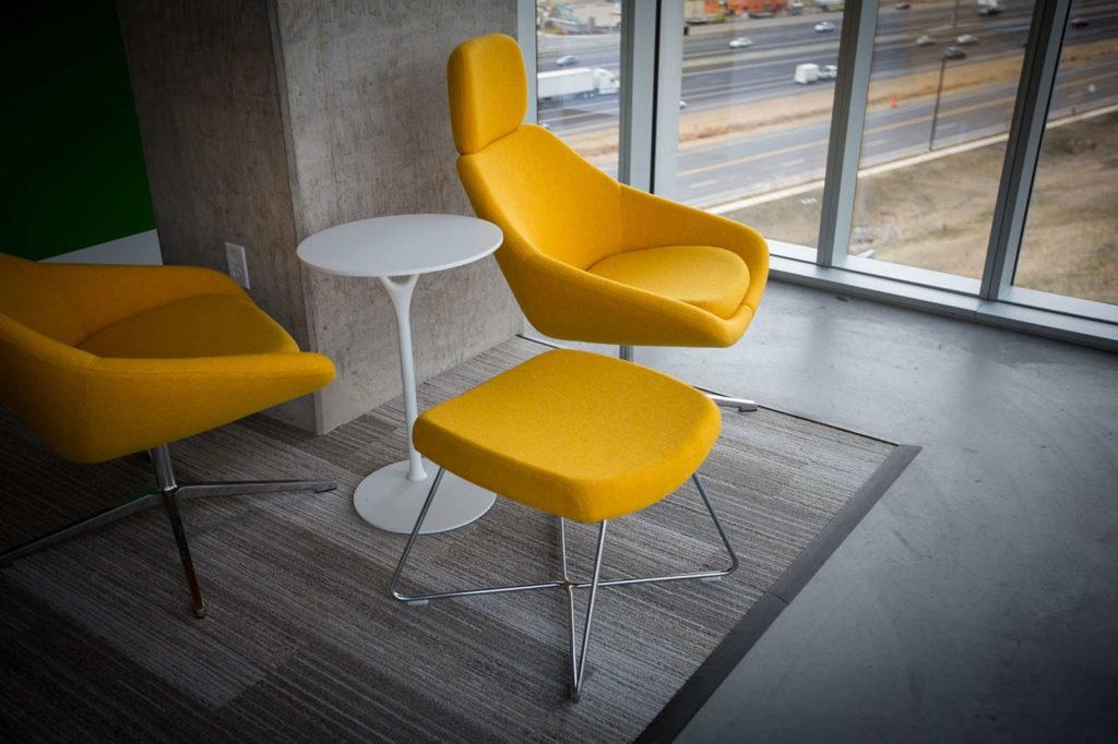 Furniture yellow